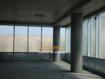 Применение защитной жидкой пленки для окон Liquick при монтаже высотных зданий на Ленинградском шоссе